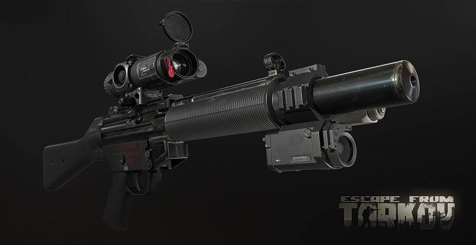 Escape From Tarkov MP5