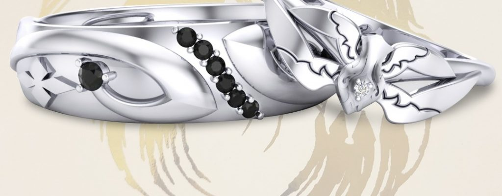 Seht Euch diese atemberaubenden Eheringe á la Final Fantasy XIV an