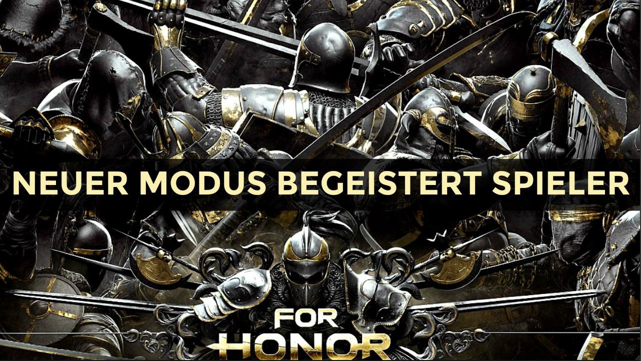 Teste dein Metall in For Honor: Neuer Modus begeistert Spieler