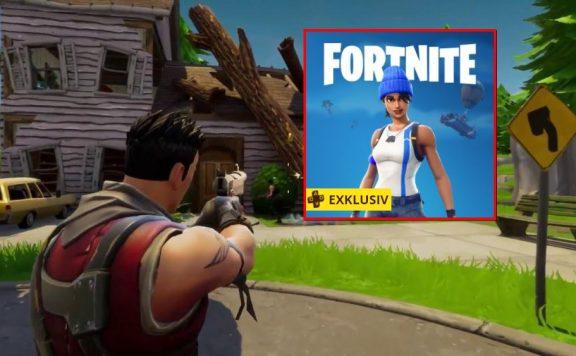 Fortnite Gratis Skin Battle Royale PS Plus