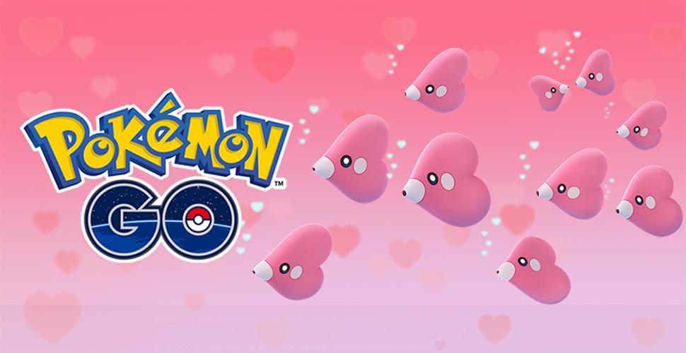 Pokémon GO Liebiskus Titel Valentinstag