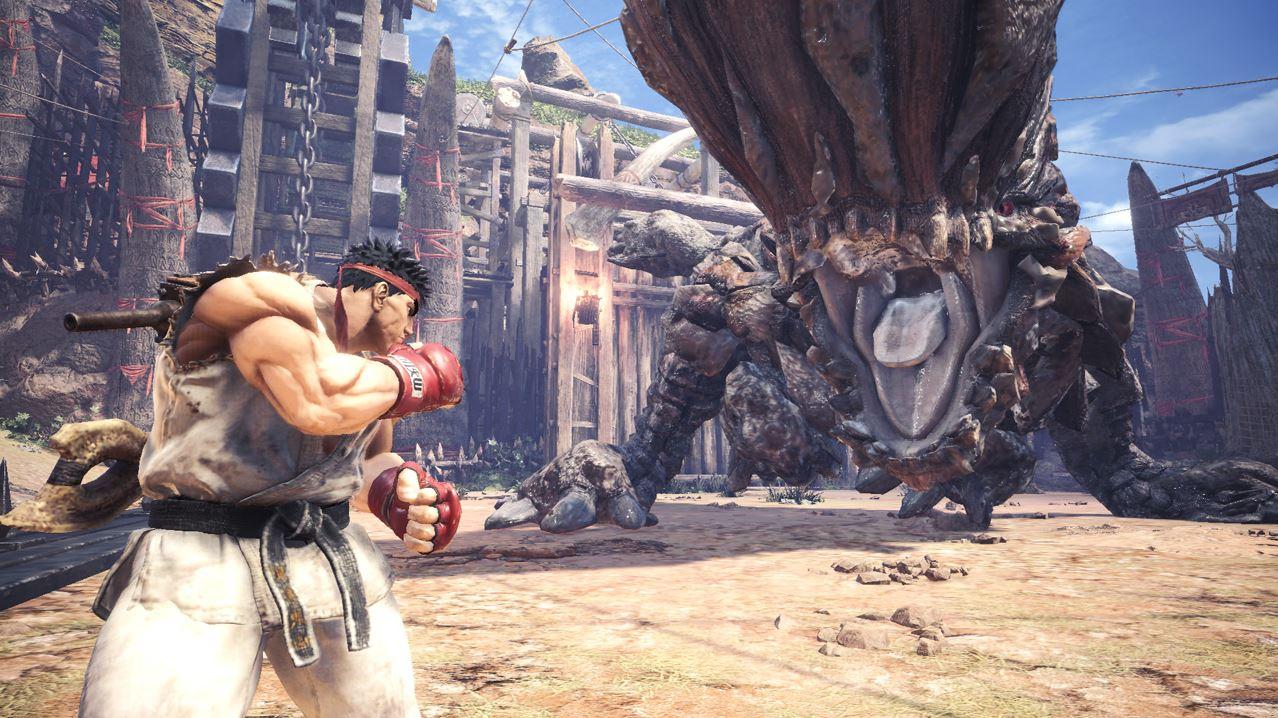 So holt Ihr Euch jetzt Ryu aus Street Fighter V für Monster Hunter World
