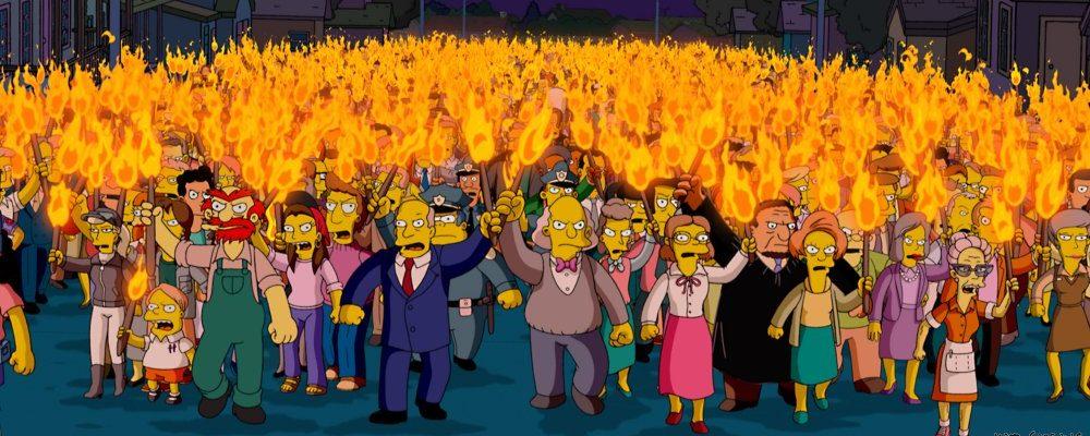 Simpsons Shitstorm