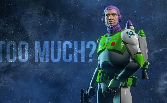 Star Wars Battlefront 2 Buzz Lightyear