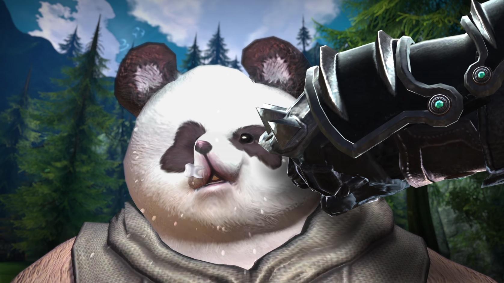 TERA schlägt auf Pandas ein, um eine neue Klasse vorzustellen