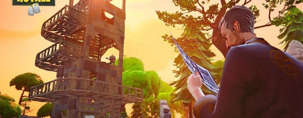 Fortnite Battle Royale: Bau-Guide – Tipps, um starke Festungen zu bauen