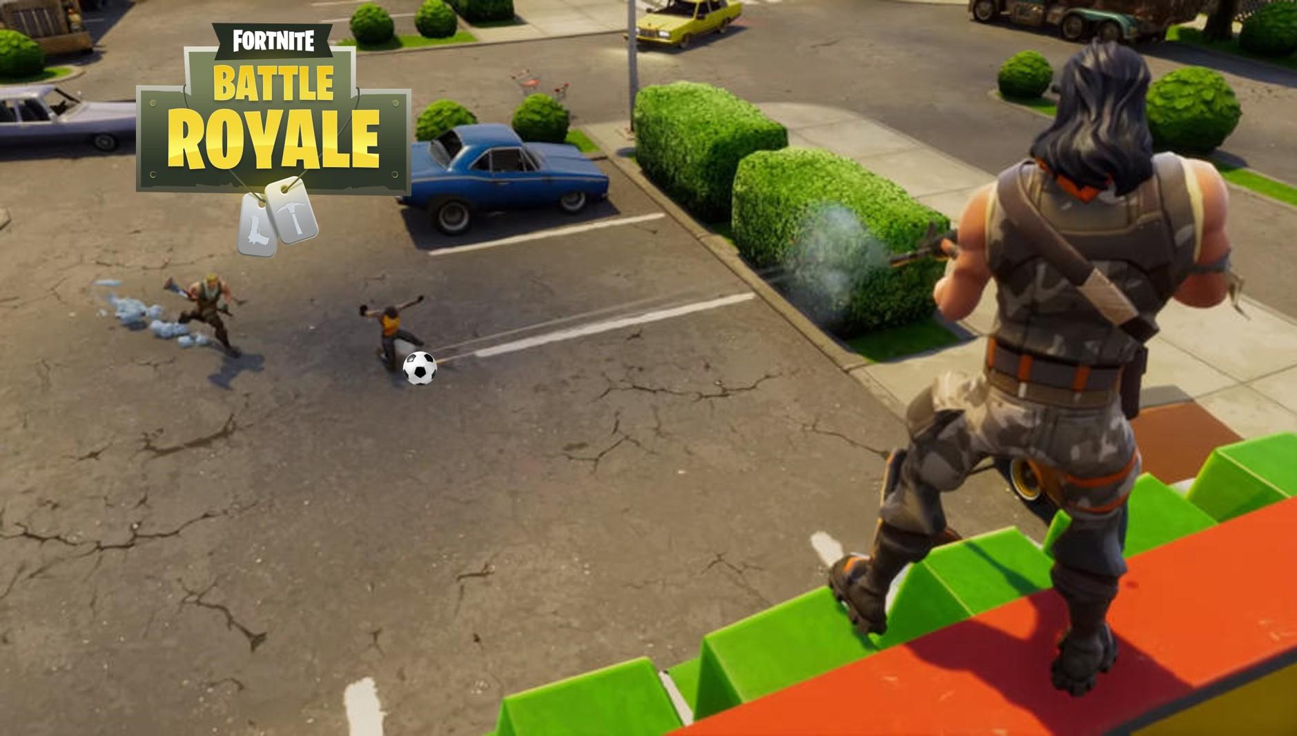 So spielt Ihr in Fortnite: Battle Royale richtig Fußball auf Leben und Tod!