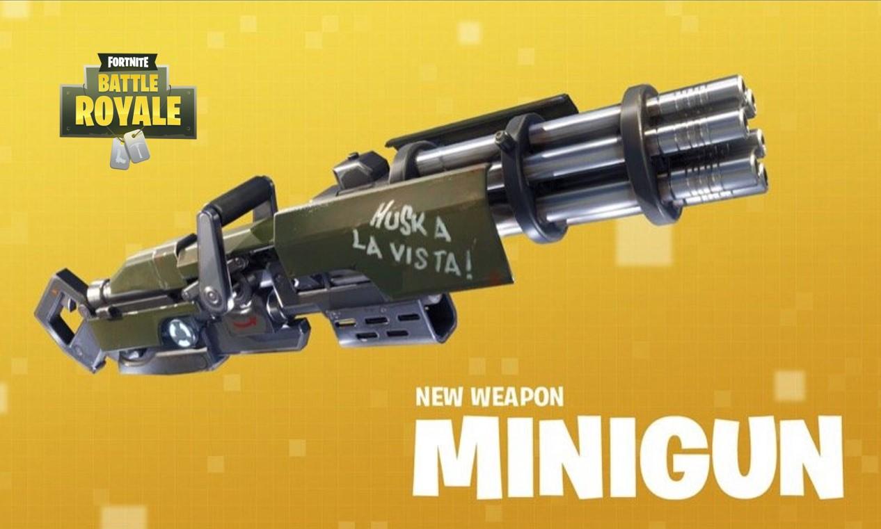 Ist die Minigun in Fortnite: Battle Royale zu stark?