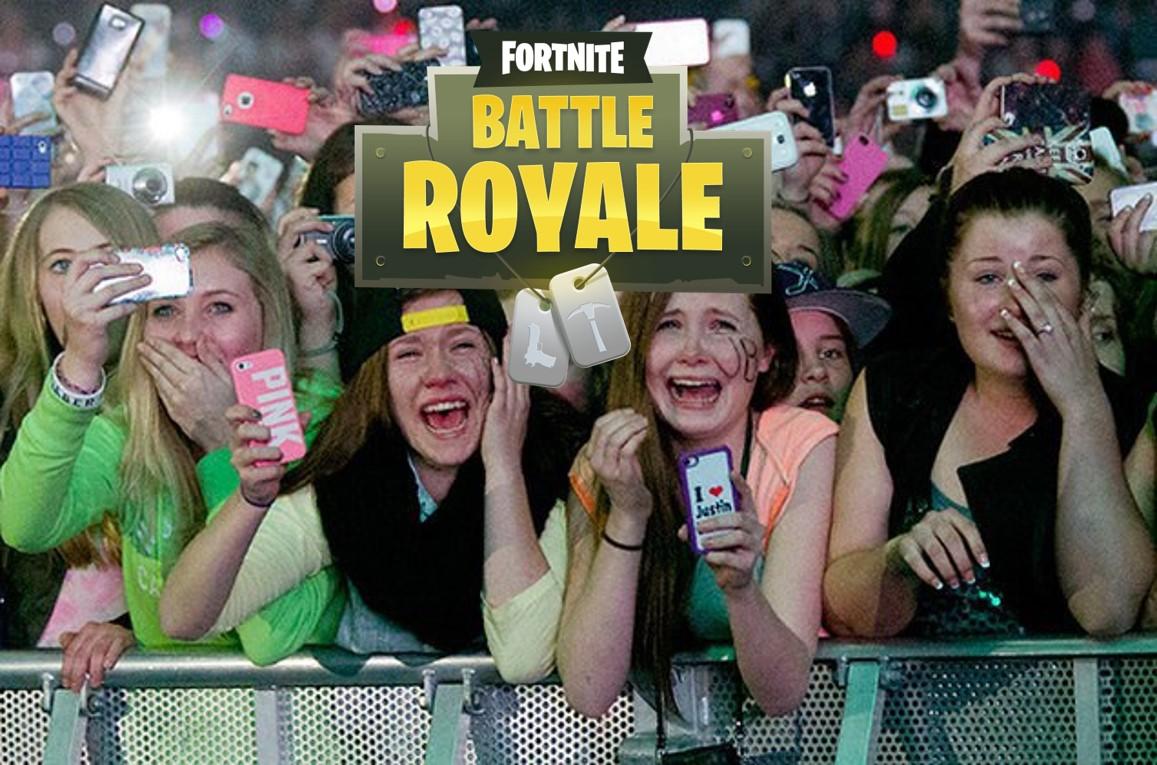 Epischer Sieg in Fortnite: Battle Royale – und die Menge rastet aus!