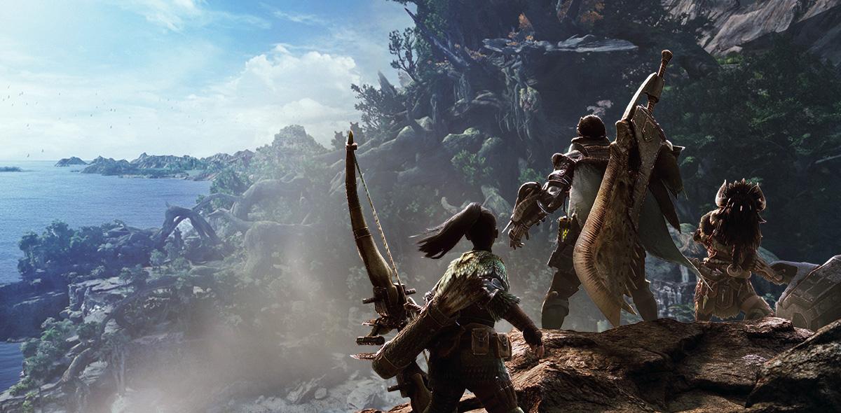 Spieler wählen beste Waffe in Monster Hunter World für Solo und Gruppe