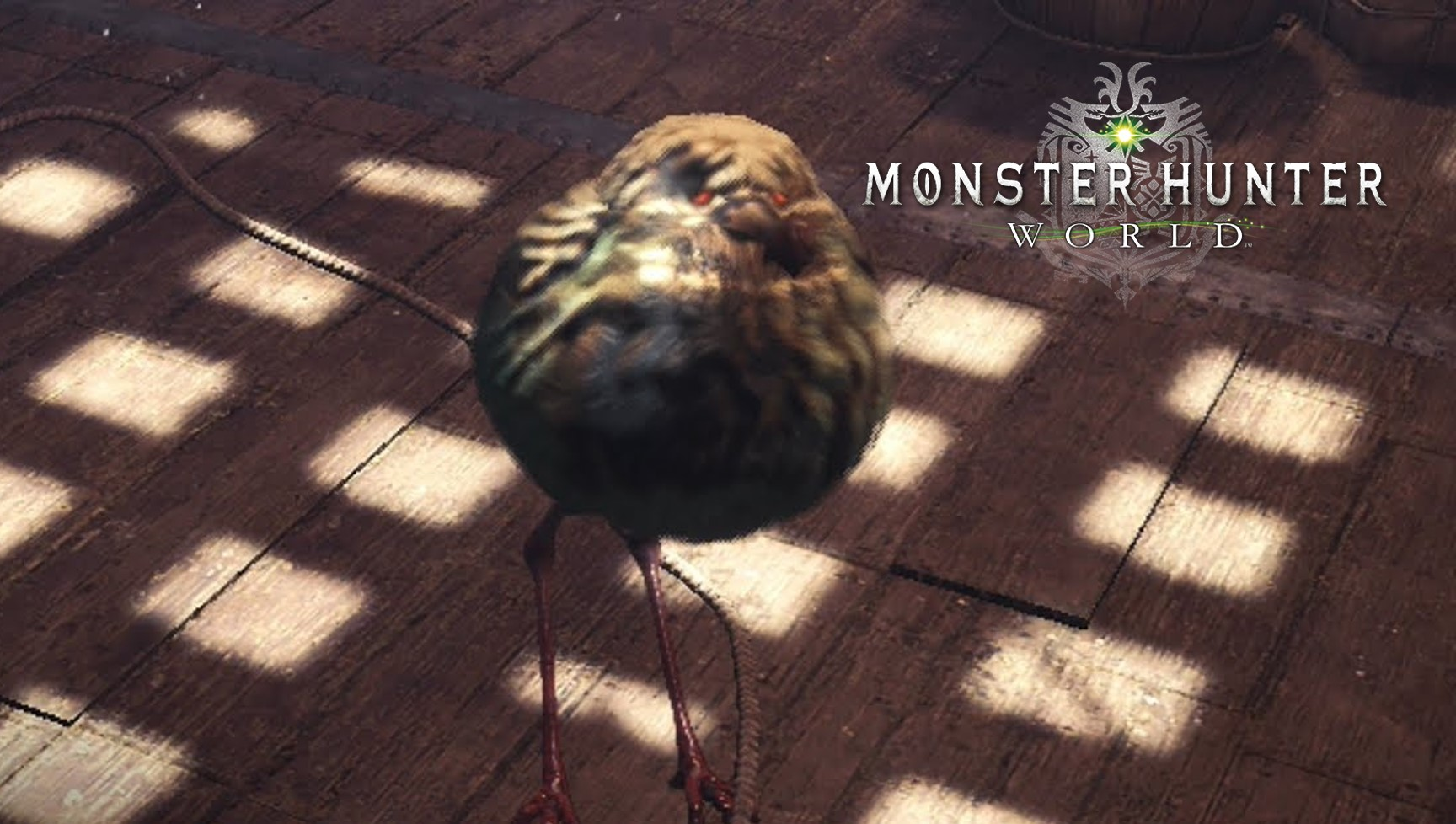 Borsten für alle – Fangt das seltene Kraushuhn in Monster Hunter World
