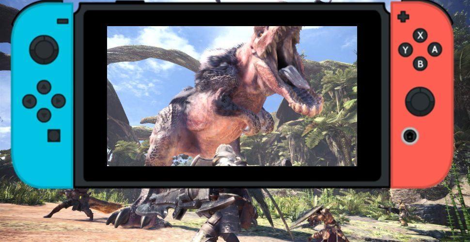 Studio bietet an, nach Skyrim nun Monster Hunter World auf Switch zu bringen