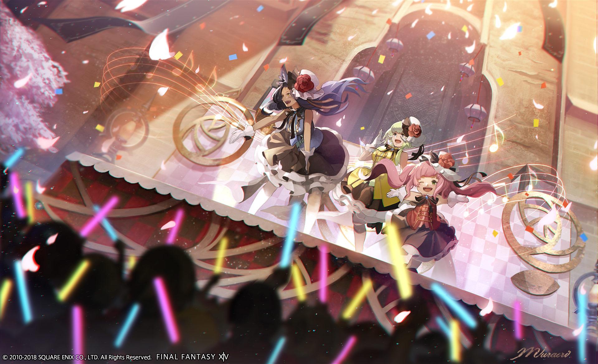 Prinzessinnenfest bringt Leuchtstäbchen und J-Pop zu Final Fantasy XIV