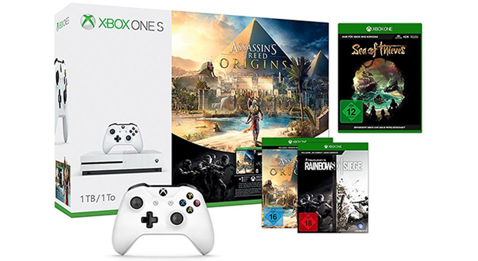 Amazon Angebote – Logitech Z906, Xbox One S-Bundles & PS4 Slim