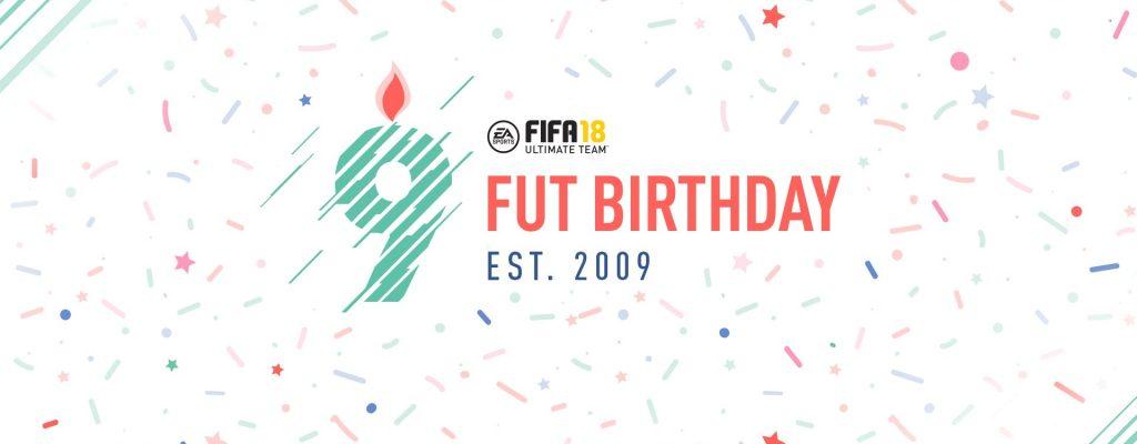 FIFA 18 FUT Birthday: Heute startet der 9. Ultimate-Team-Geburstag