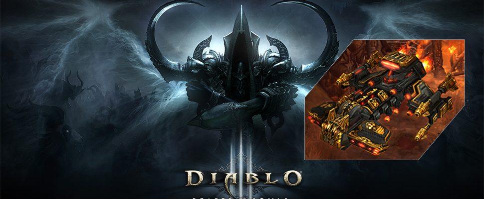 Diablo 3 schenkt Euch als besonderen Gefährten ein massives Kampfschiff