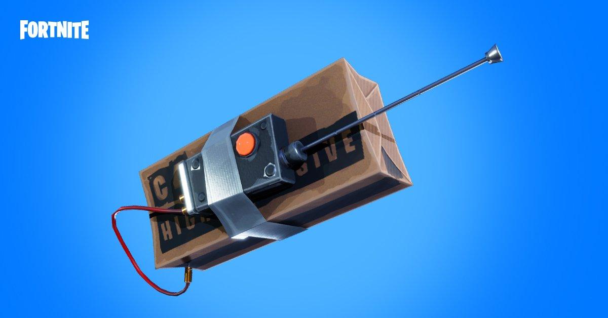 Fernzündladungen bei Fortnite sind wohl nächste bombige Überraschung