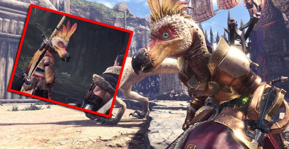 Werde in Monster Hunter World zum Dodo mit dem Kulu-Ya-Ku-Helm