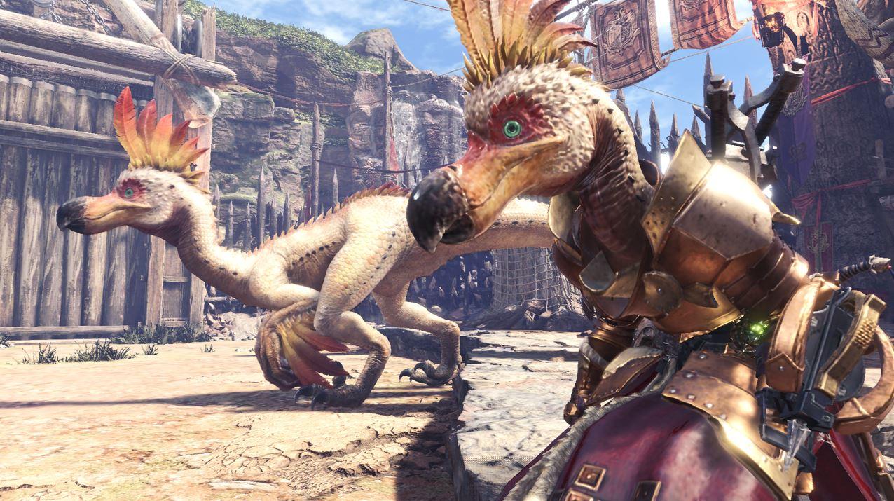Wir erfahren bald das PC-Release-Datum für Monster Hunter World!