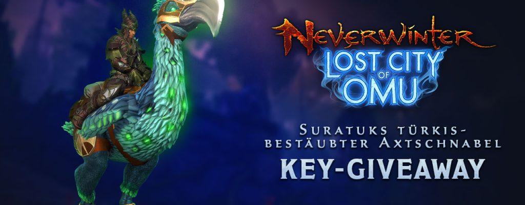 Gewinnt 50 bunte Axtschnabel-Mounts für Neverwinter auf dem PC