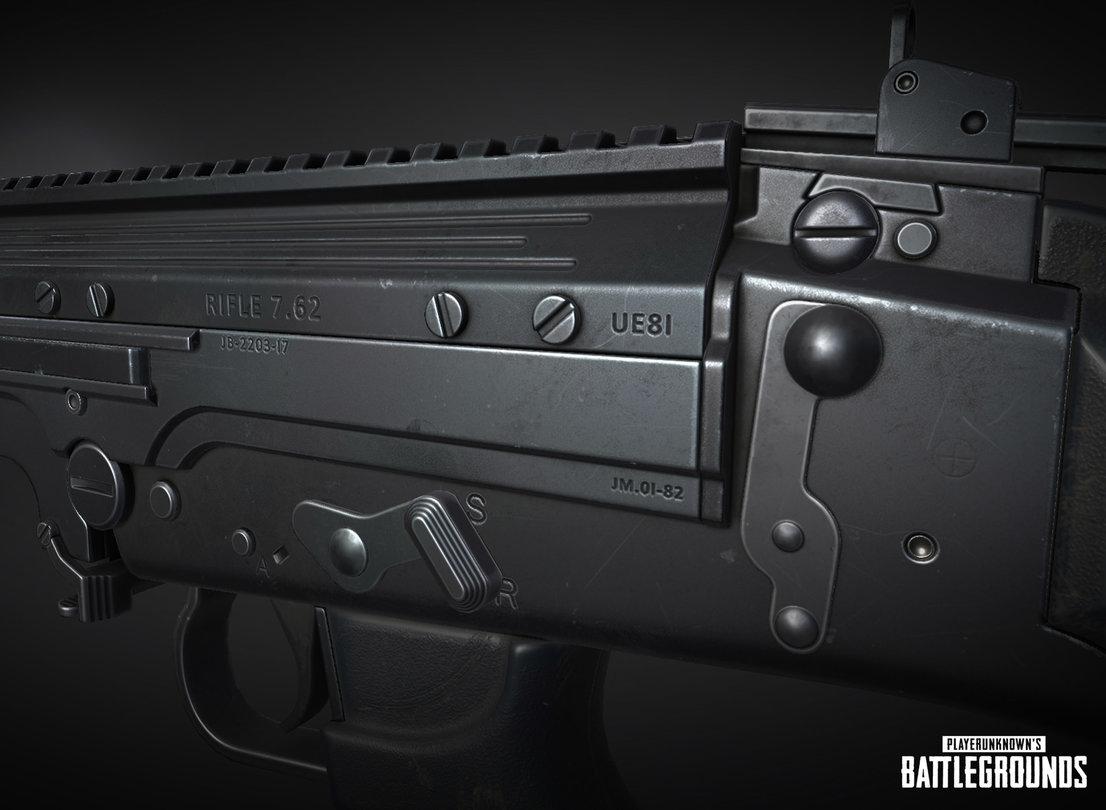 Wird die dicke FN FAL die neue Waffe in PUBG?