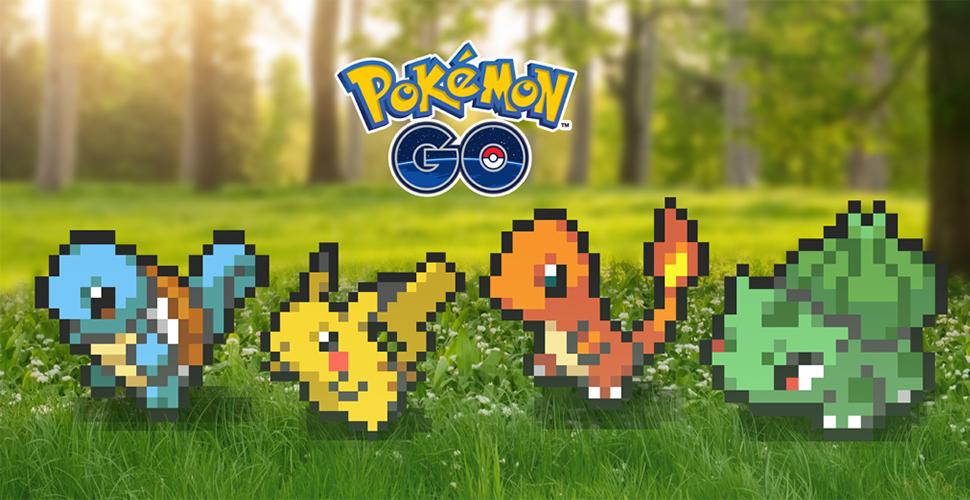 Pokémon GO in 8-Bit – So lange bleibt der pixelige Retro-Look im Spiel