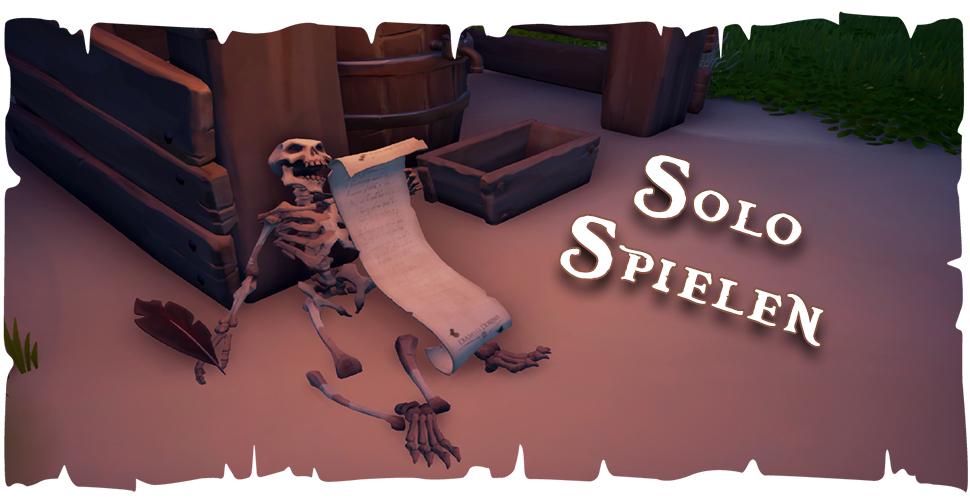 Sea of Thieves alleine spielen – Tipps und Tricks für Solo-Spieler