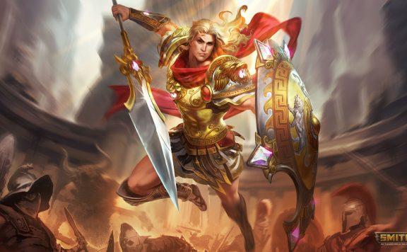 Smite Achilles God