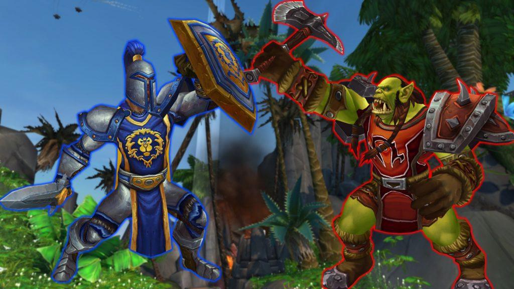 WoW Alliance Horde Battle title