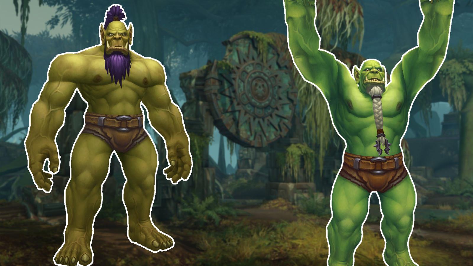 Hier sind die aufrechten Orcs aus WoW: Battle for Azeroth