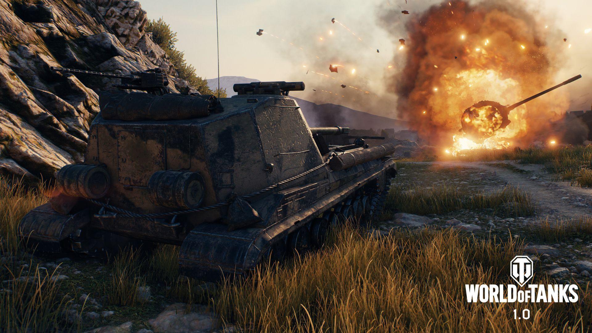 World of Tanks 1.0 kommt und der Boss hat's noch keine Sekunde gespielt