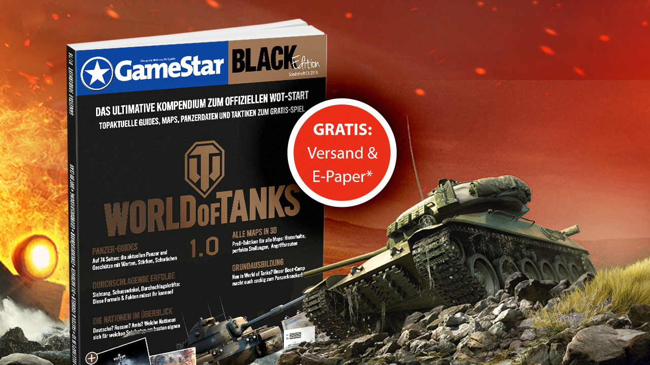 Neues GameStar-Sonderheft zu World of Tanks 1.0 mit allen Infos