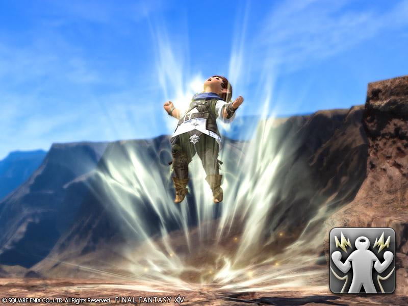 Final Fantasy XIV: Werde mit dem Dragonball-Emote zum Super-Saiyajin