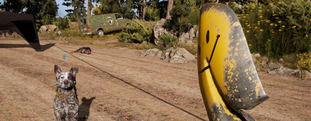 Far Cry 5 hat jetzt eine Meme-Waffe, die Schaufeln abfeuert
