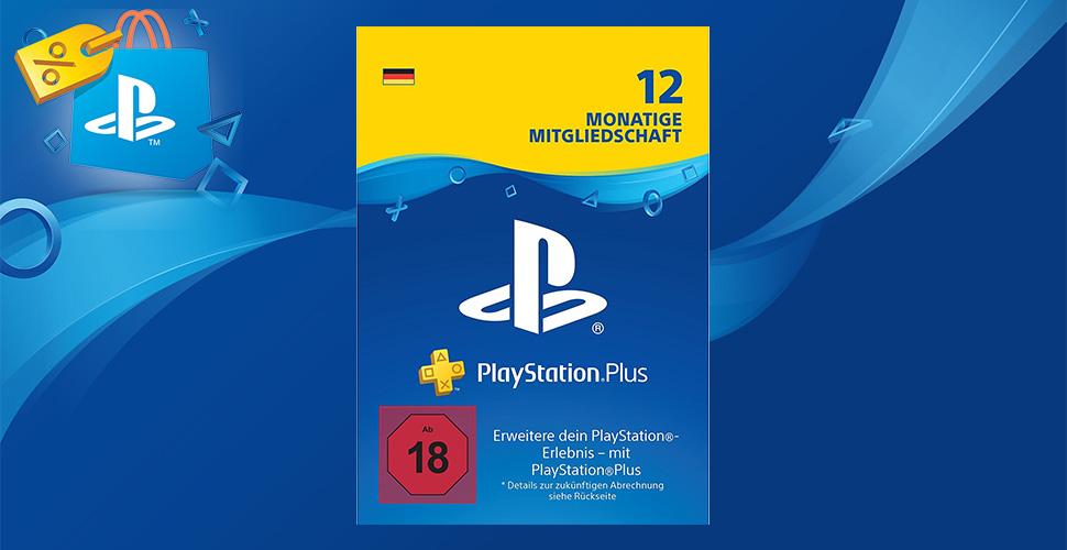 PS Plus im Angebot – Das 12 Monate Abonnement für 44,99 Euro