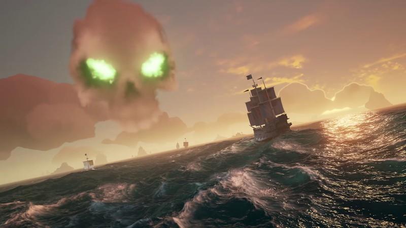 Skelett-Festungen sind die Raids von Sea of Thieves