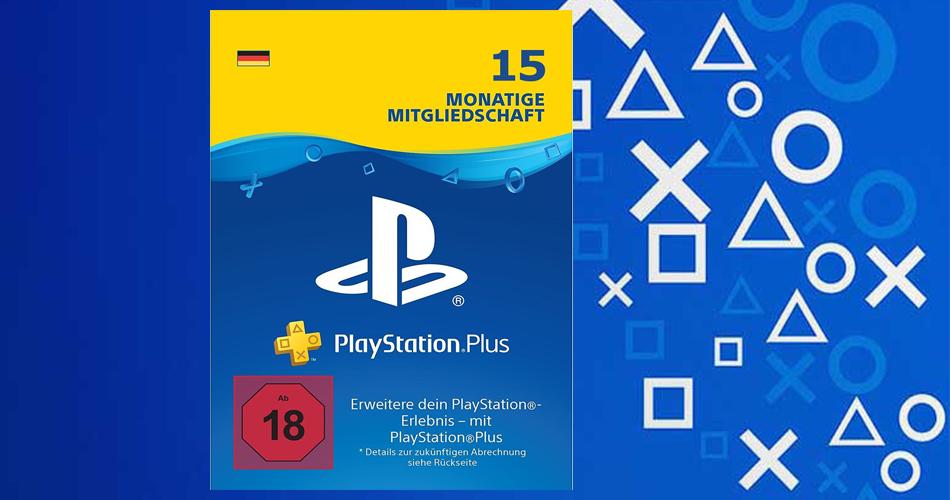 PlayStation Plus 15 Monate zum Preis von 12 Monaten