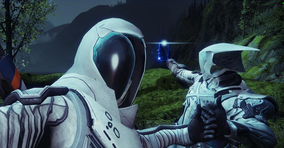Destiny 2 Thumbs up