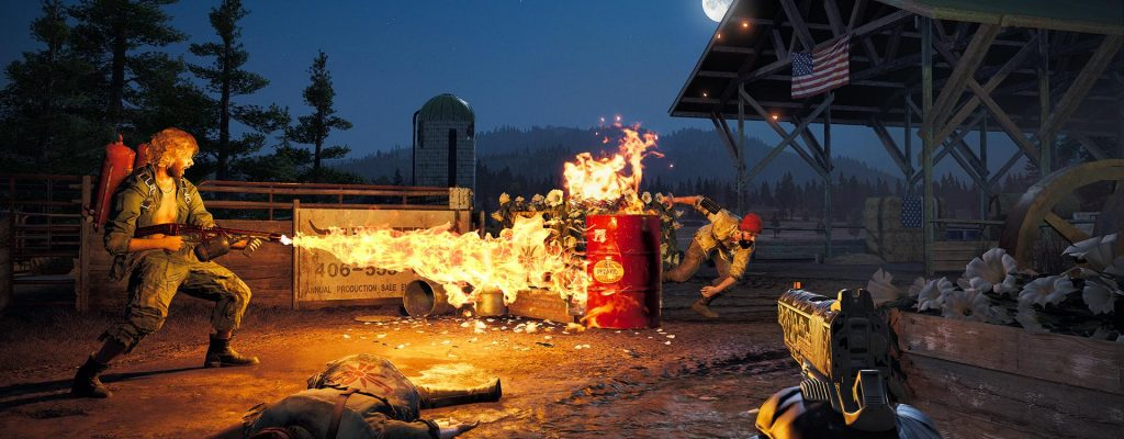 """Far Cry 5: 1. Live-Event """"Gut durch"""" gestartet, lockt mit Flammenwerfer"""