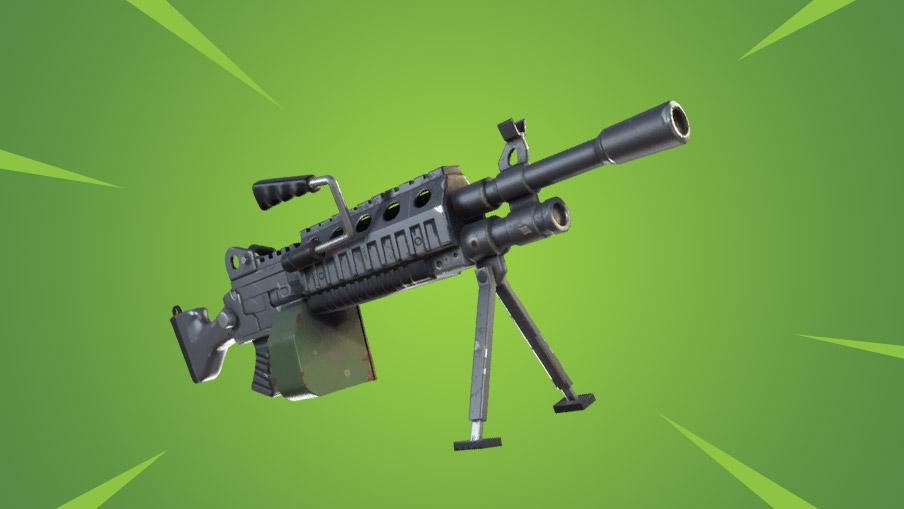 Fortnite: Neue Waffe wird leichtes Maschinengewehr – Minigun-Ersatz?