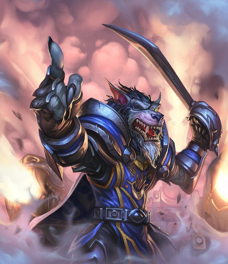 In der Monsterjagd von Hearthstone könnt ihr Karten auf den Gegner werfen