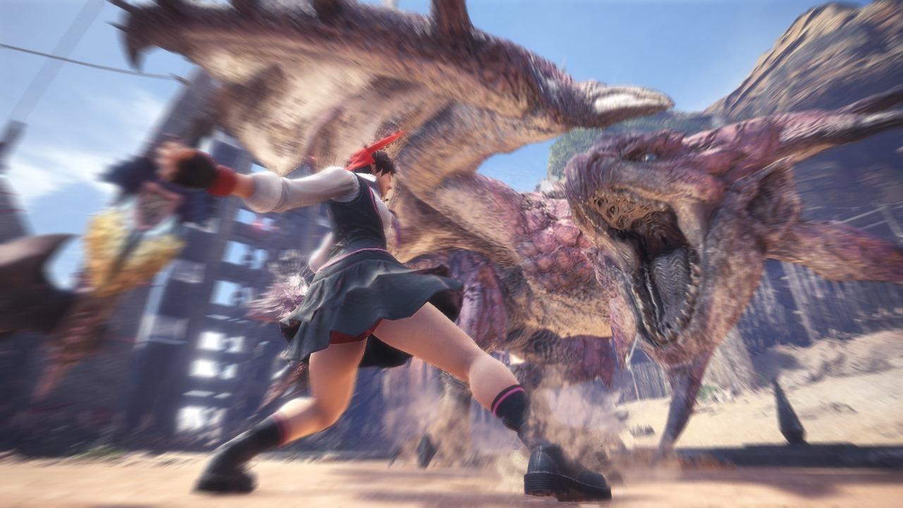 So wirst du jetzt in Monster Hunter World zu Sakura aus Street Fighter V