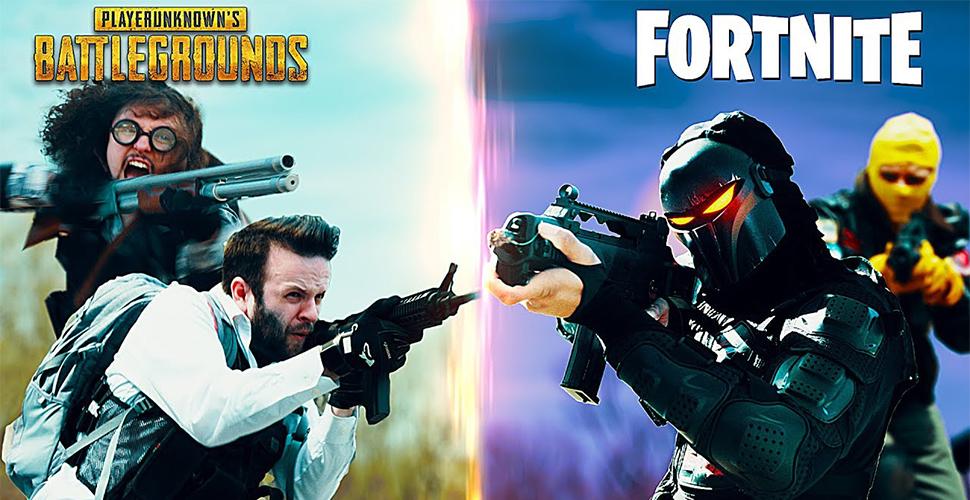 PUBG vs. Fortnite: Lustiger Kurzfilm zeigt brutales Duell – Wer gewinnt?