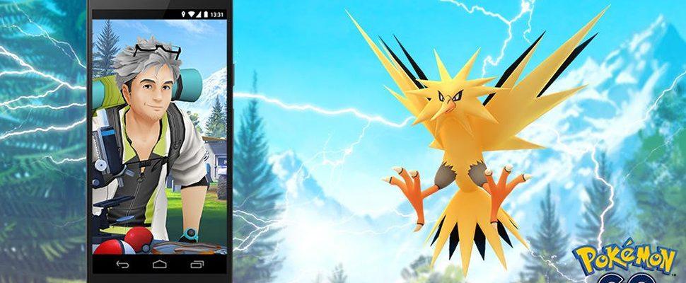 Pokémon GO: Zapdos-Tag kommt am 21. Juli nach GO-Fest  – Alle Infos & Boni
