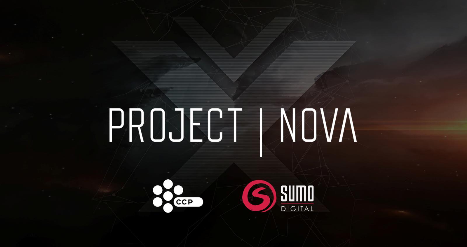 Project NOVA Logo Preview