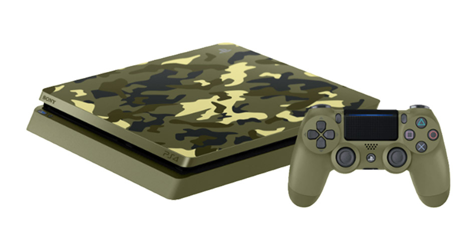 Saturn-Angebote: PS4 Slim Camouflage-Edition im Bundle mit Call of Duty