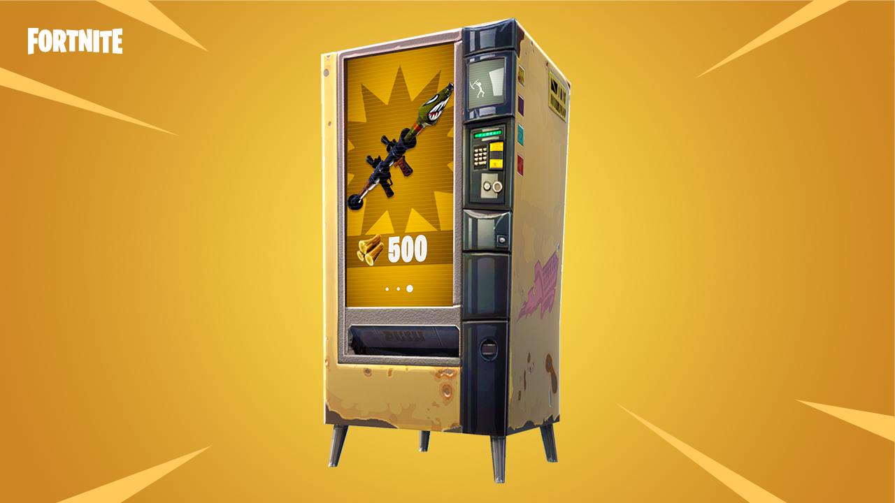 Fortnite: Neuer Modus Hochexplosiv ist live – und die Vending Machines