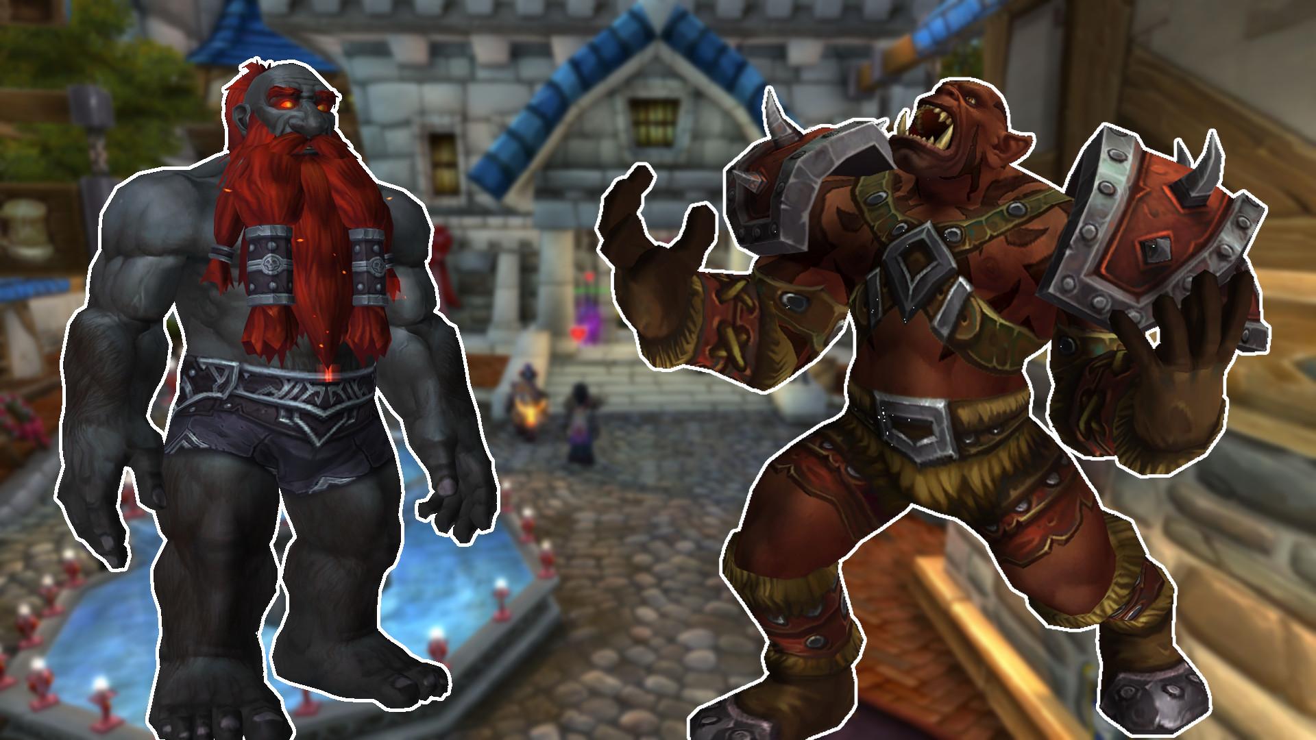 In der WoW Alpha sind Mag'har-Orcs und Dunkeleisenzwerge erstmals spielbar