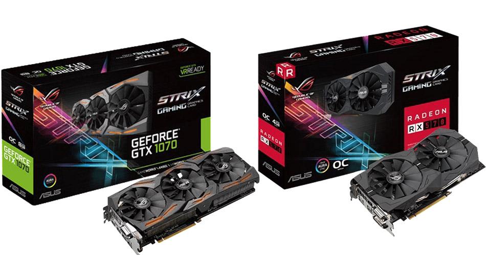 MediaMarkt-Angebote: ASUS Radeon RX 570 & ASUS GeForce GTX 1070