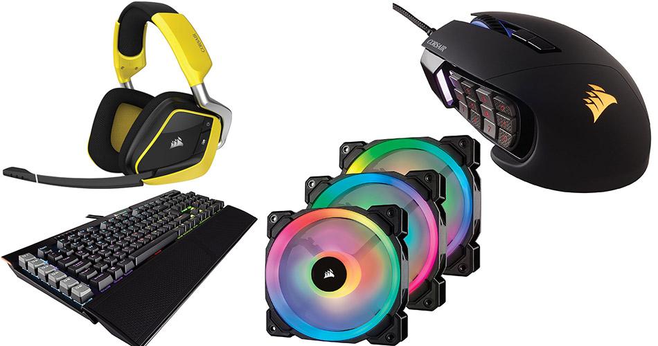 Amazon-Angebot: Bis zu 30% Rabatt auf Gaming-Zubehör von Corsair